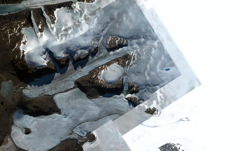 "Le projet ""Project Iceworm"" réalisé par Anastasia Mityukova."