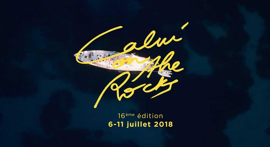 L'affiche de la 16e édition du festival Calvi on the Rocks