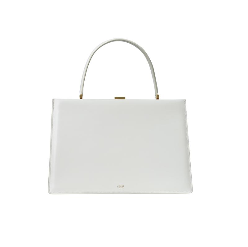 """""""Clasp"""" bag, CÉLINE."""