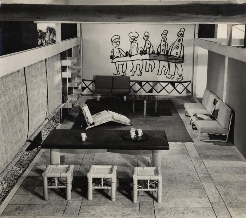 "Charlotte Perriand - Présentation Tokyo, (28 mars - 6 avril 1941) ""Sélection-Tradition-Création""."