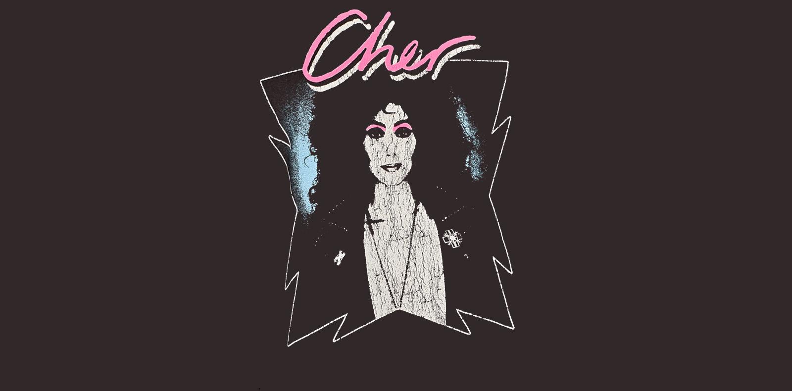 """T-Shirt """"Cher"""" par Zara"""
