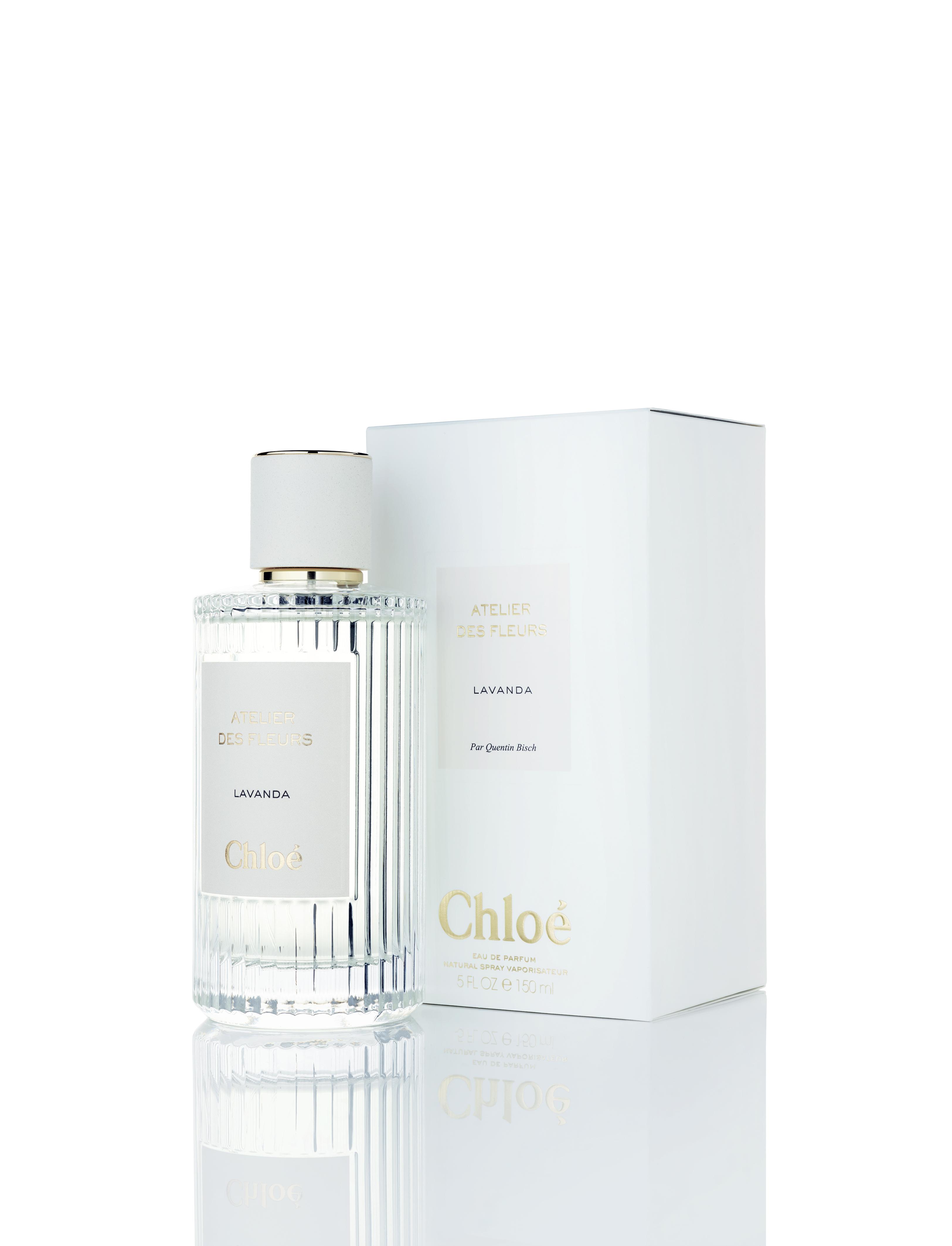 """""""Lavanda"""", eau de parfum, collection Atelier des Fleurs, CHLOÉ."""