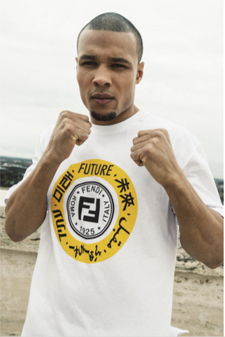 Chris Eubank Jr. pour F is for... Fighter