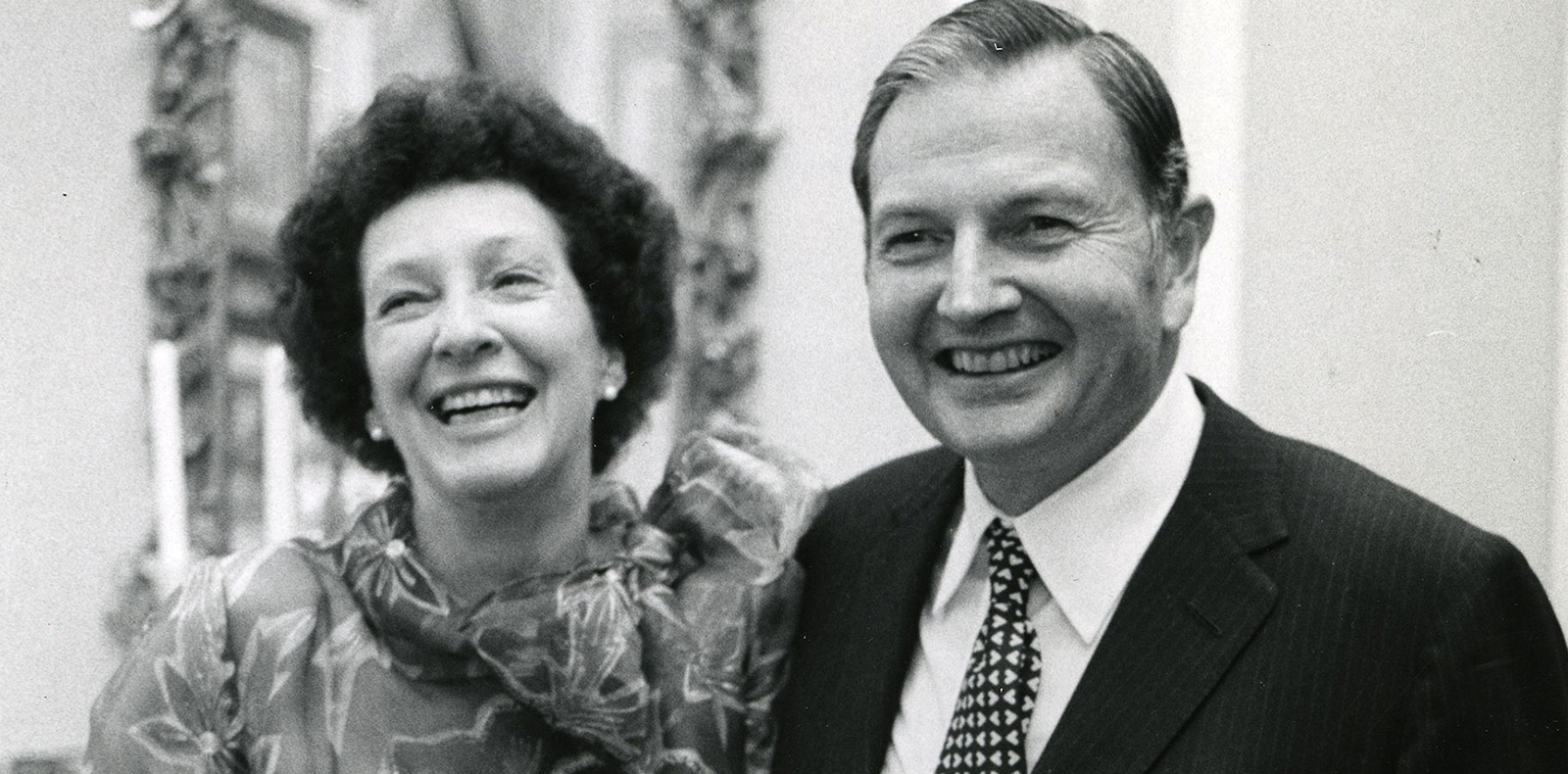 Peggy et David Rockefeller. © Rockefeller Archive Center