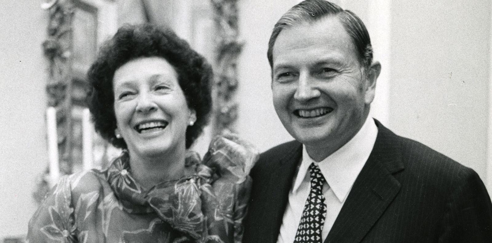 Peggy et David Rockefeller. © Rockefeller Archive Center