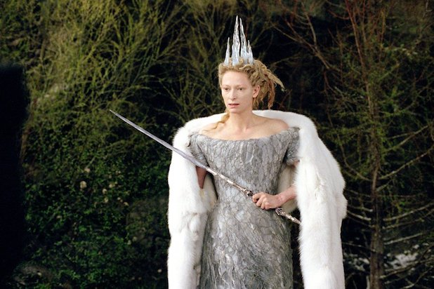 """The Chronicles of Narnia: The Lion, the Witch and the Wardrobe"", 2005. In the adaptation of CS Lewis' iconic novels, Tilda Swinton played the terrifying White Witch, with the most exhilarating range of hairstyles, from a dramatic chignon to an octopus of icy dreadlocks."