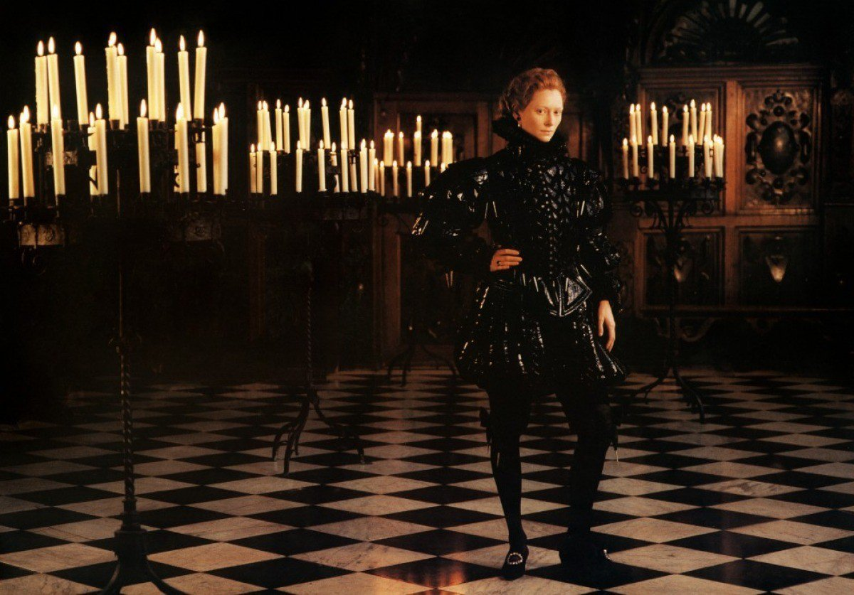 """Orlando"", 1992. Tilda Swinton landed the lead role in Sally Potter's Elizabethan drama ""Orlando"", an adaptation of Virginia Woolf's book. In it she plays a man with long red hair, thus delivering her first exploration of androgynous characters."