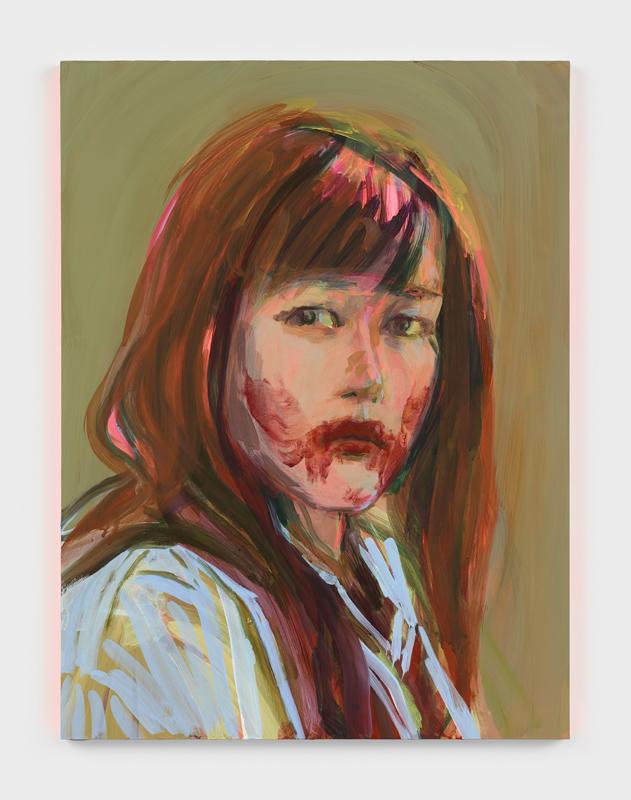 """""""Self-Portrait as a Vampire"""" de Claire Tabouret (2019)"""