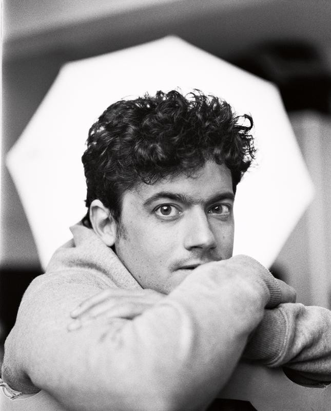 Clément Cogitore photographié par Emma Picq.