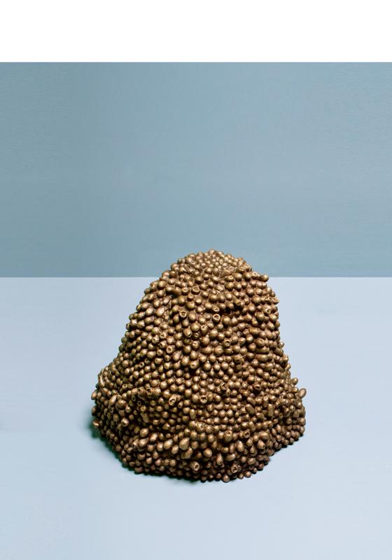 "Tabouret ""Cocoon Stool"", design de Marlène Huissoud pour Wallpaper* Handmade 2018."