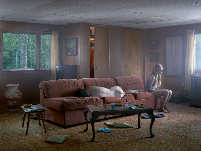 """The Den"", Gregory Crewdson, 2013."