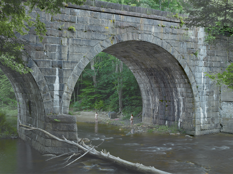 """Beneath the Bridge"", Gregory Crewdson, 2014."