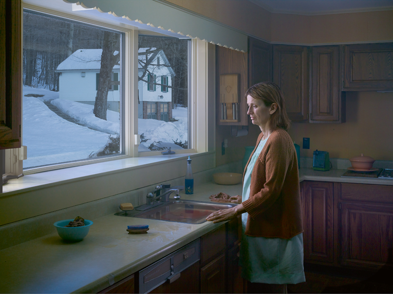 """Woman at Sink"", Gregory Crewdson, 2014."