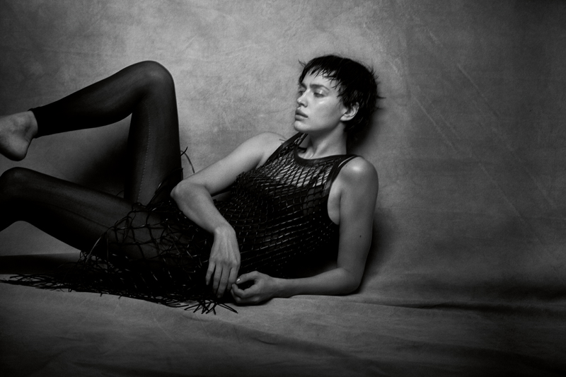 Irina Shayk par Peter Lindbergh et Babeth Djian