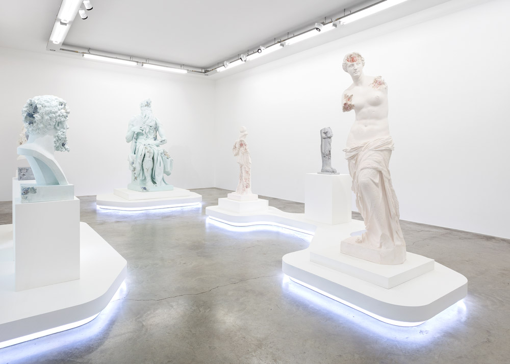 "View of the exhibition ""3020"" at Perrotin Paris