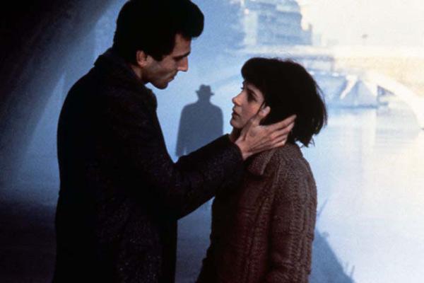 "Daniel Day-Lewis and Juliette Binoche in ""The Unbearable Lightness of Being"" (1987) by Philip Kaufman."