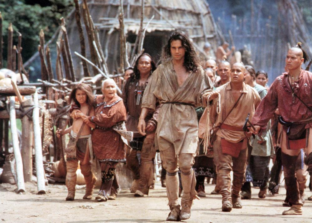"""Daniel Day-Lewis in """"The Last of the Mohicans"""" (1992) by Michael Mann."""