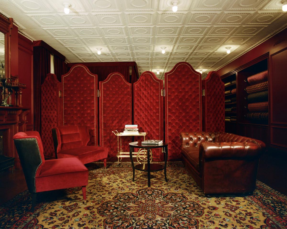 Le nouvel atelier Gucci x Dapper Dan de Harlem, photo par Renell Medrano