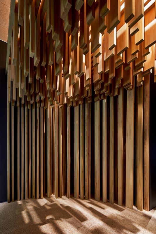 "Replica of the ""Sclera"" pavillon by David Adjaye, 2008. Photo Ed Reeve."