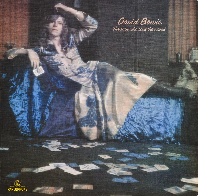 "Pochette de l'album ""The Man Who Sold the World"", 1970, David Bowie. © Museum of Fine Arts, Boston."