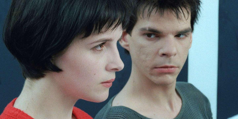 """Denis Lavant et Juliette Binoche dans """"Mauvais Sang"""" (1986) de Leos Carax."""