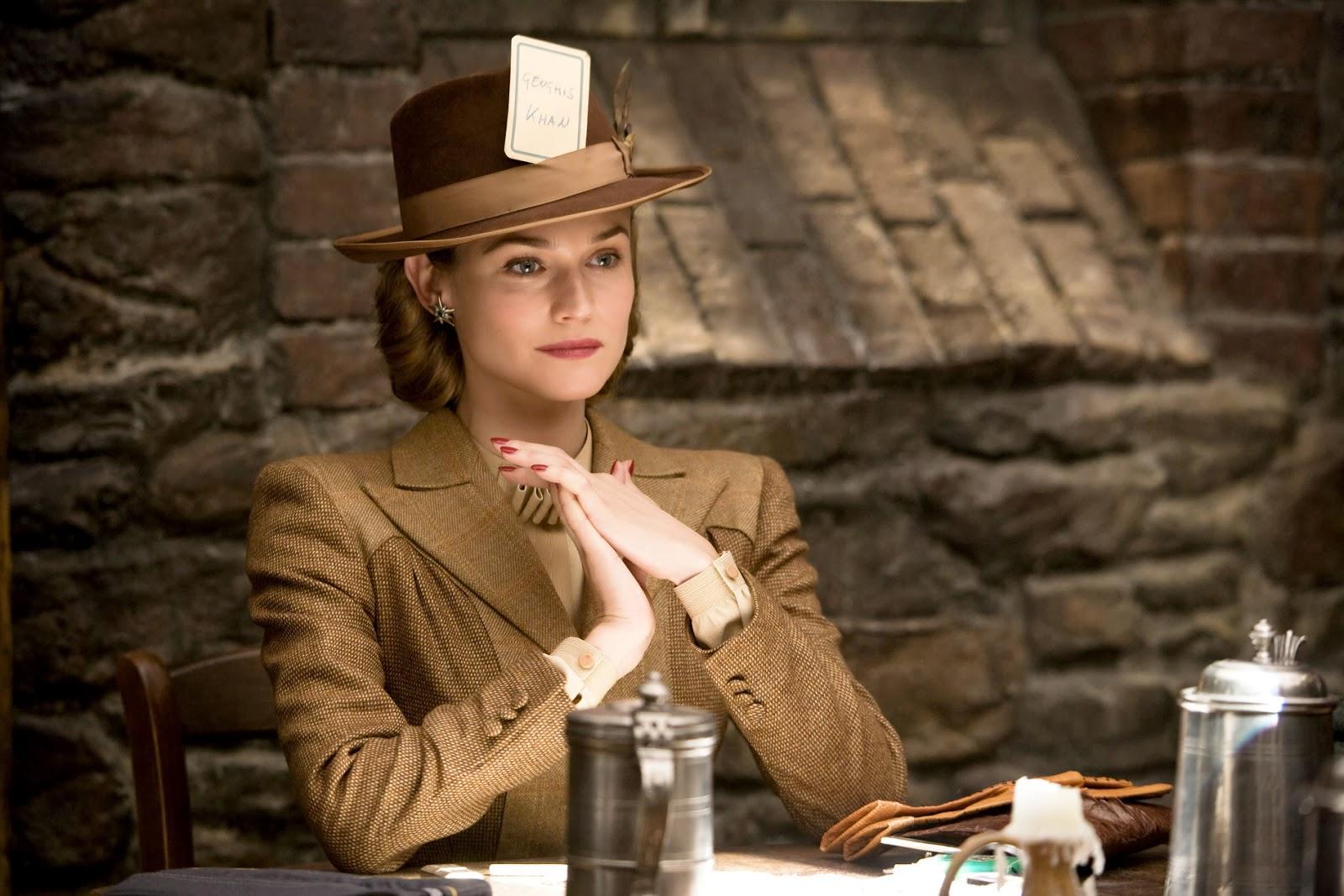"Diane Kruger dans ""Inglorious Basterds"" de Quentin Tarantino."