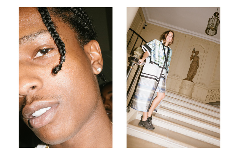 Asap Rocky au showroom Astrid Andersen
