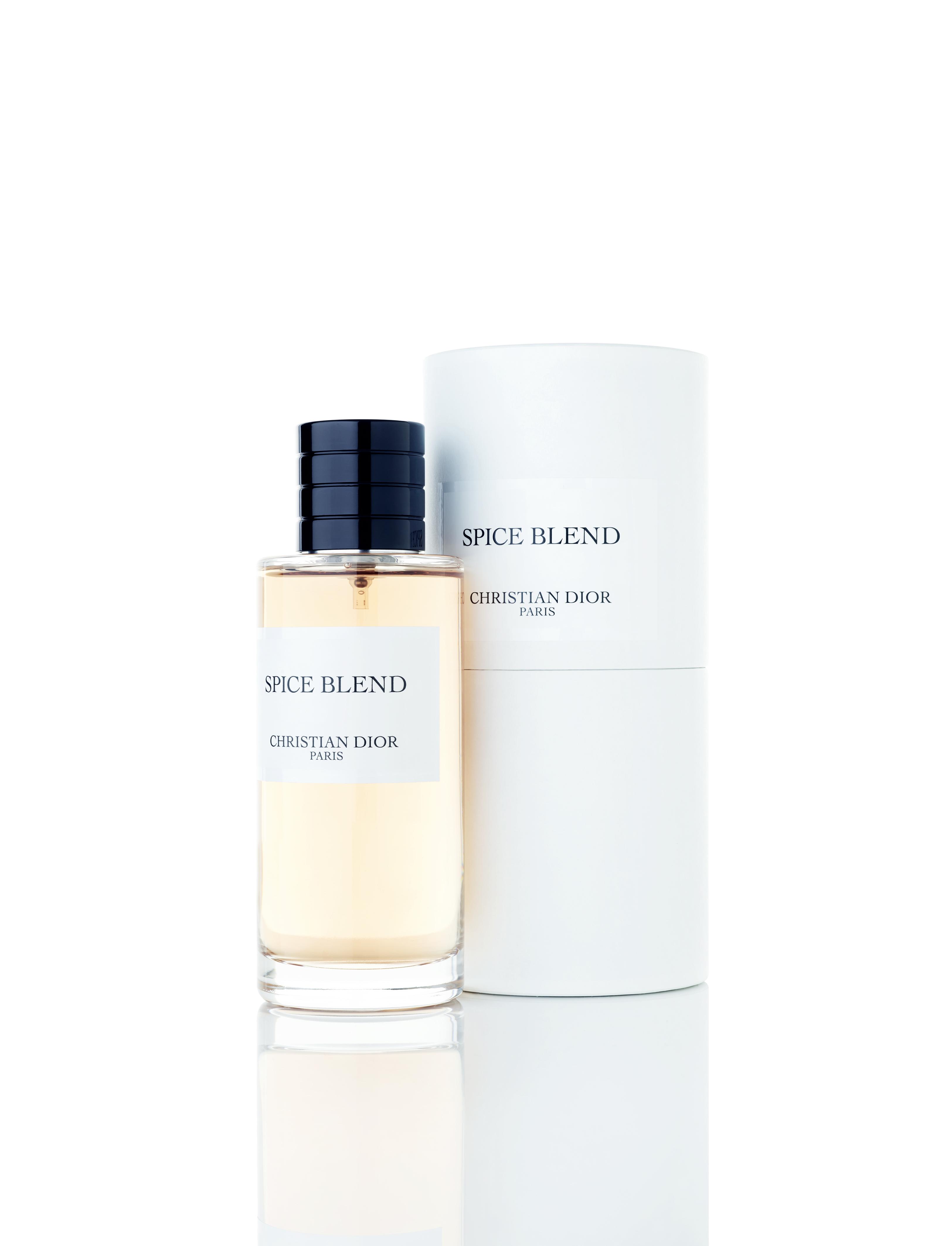"""""""Spice Blend"""", eau de parfum, collection Maison Christian Dior, DIOR. Nouvelle création à découvrir dès ce mois çi, """"Rouge Trafalgar""""."""