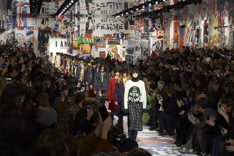 Le défilé Dior automne-hiver 2018-2019 par Maria Grazia Chiuri au Musée Rodin