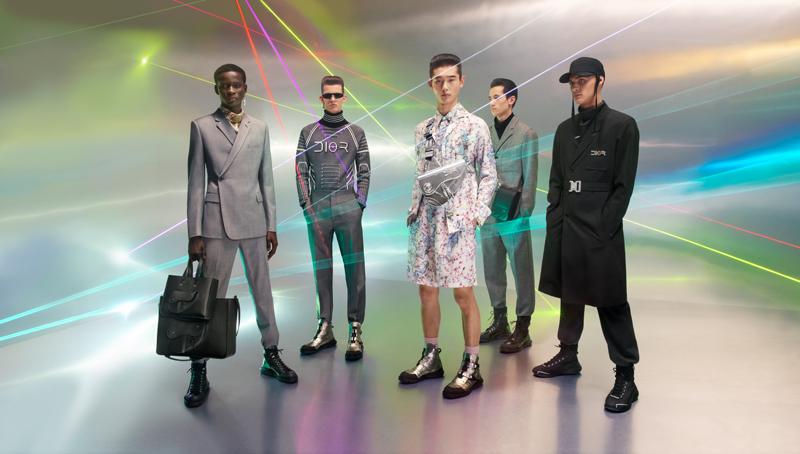 La précollection automne-hiver 2019 de Dior Homme x Hajime Sorayama.