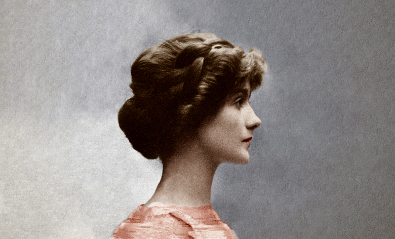 Gabrielle Chanel avant 1914.