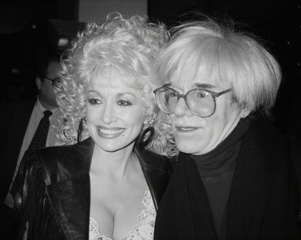 Andy Warhol and Dolly Parton (1986), Sam Bolton
