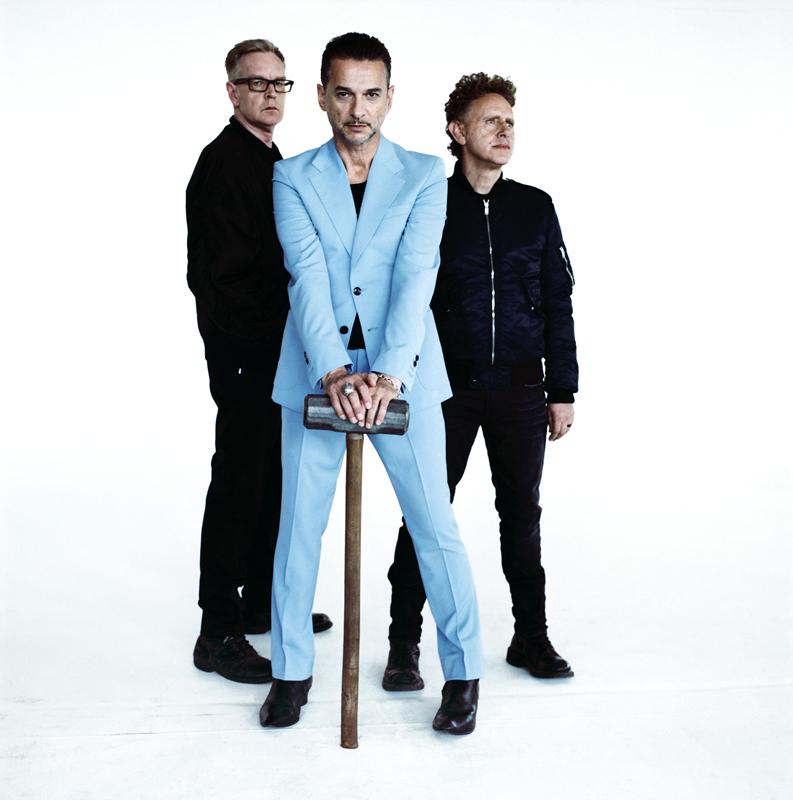 Le trio de Depeche Mode. @Anton Corbijn