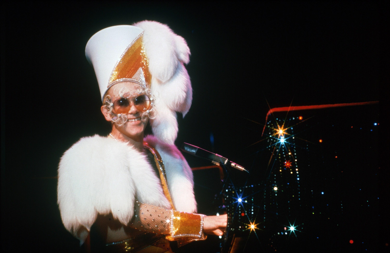 Elton John par Ed Caraeff