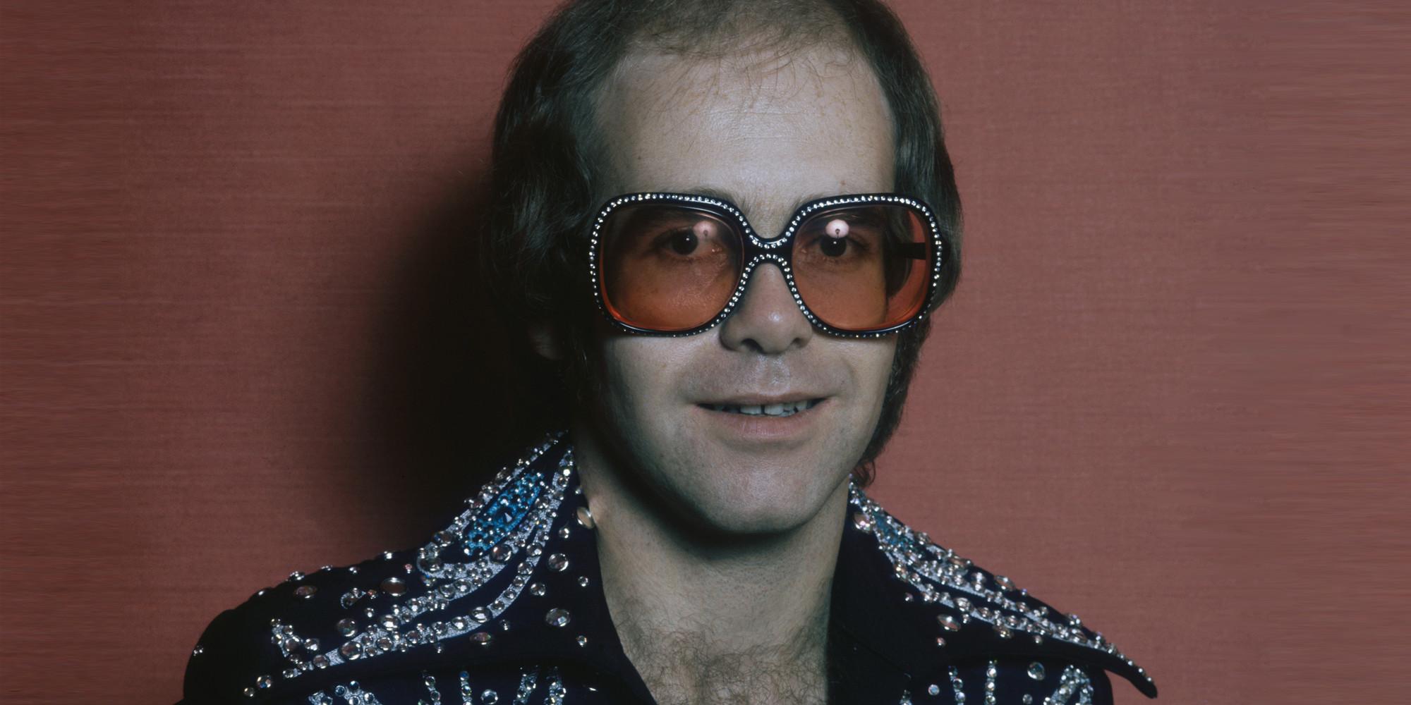 Elton John en 1975, Terry O'Neill/Hulton Archives