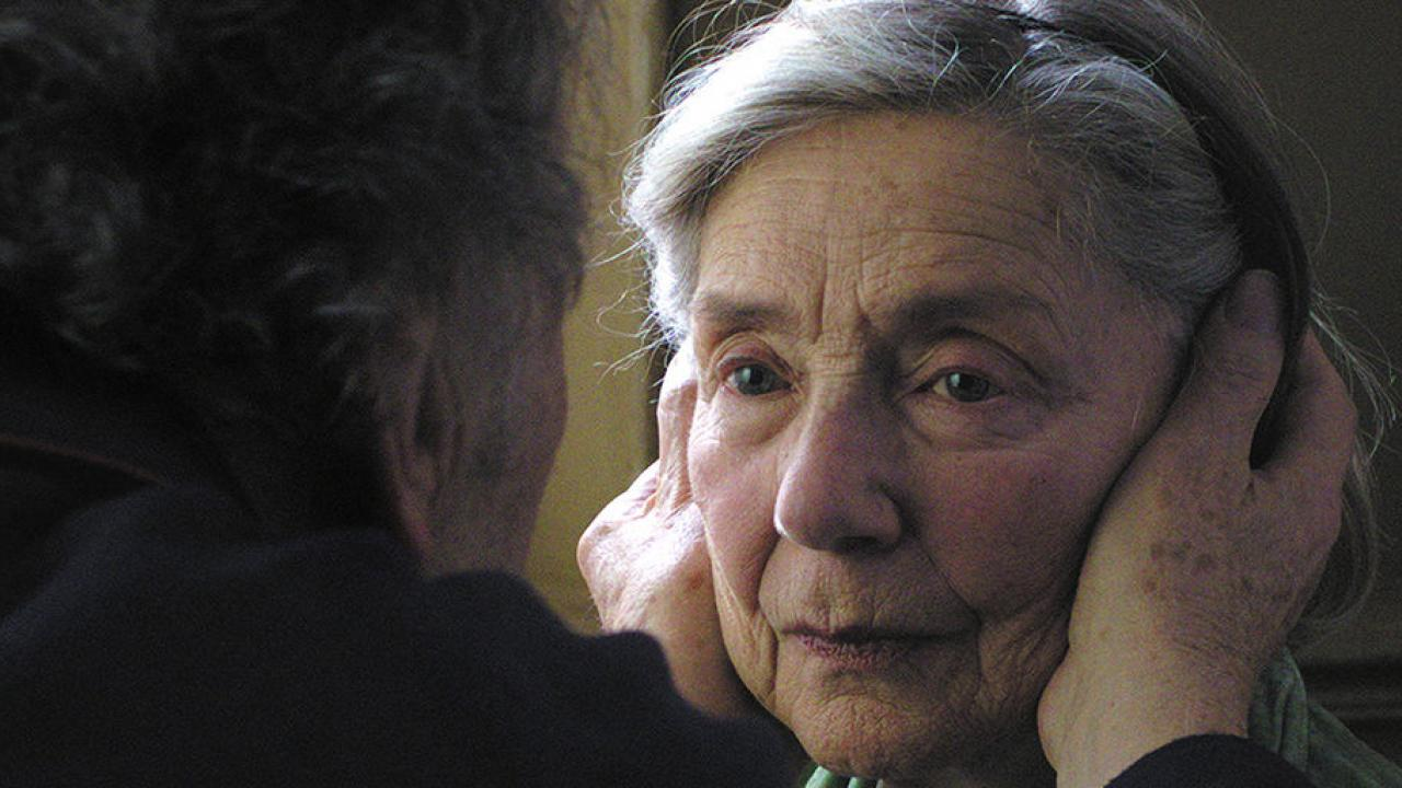 """Emmanuelle Riva dans """"Amour"""" (2012)."""