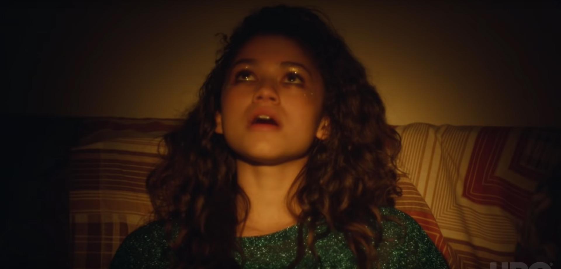 "Zendaya dans la série ""Euphoria"""
