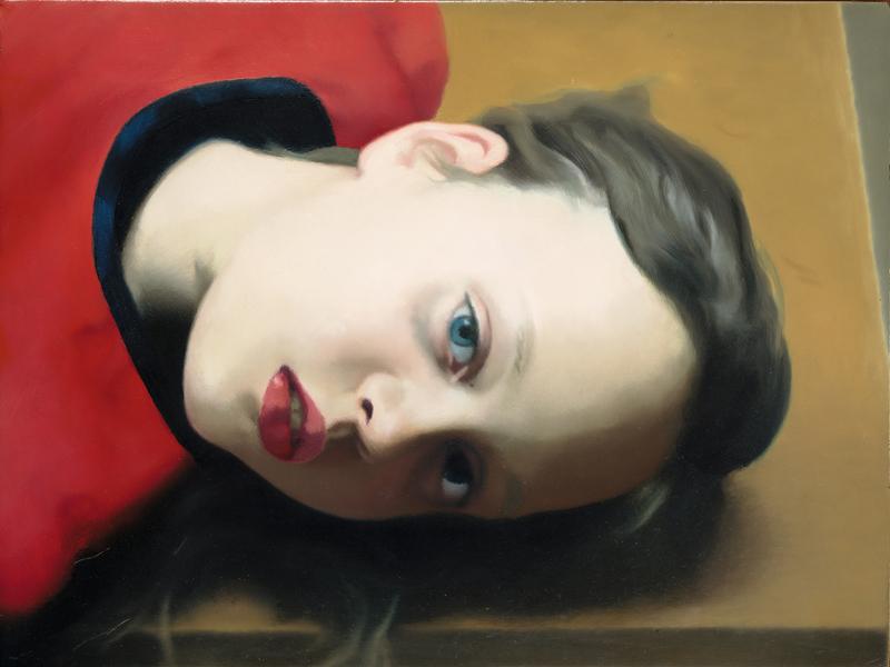 """Gerhard Richter, """"Betty"""" (1977). Huile sur bois, 30 × 40 cm. Museum Ludwig (Cologne). Prêt d'une collection privée 2007 © Gerhard Richter 2019."""