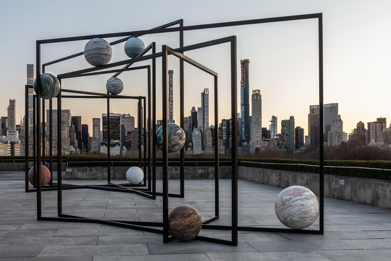 "The Roof Garden Commission, Alicja Kwade, ""ParaPivot"" (2019)"