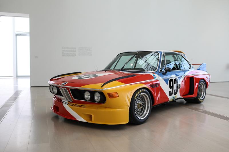 "Alexander Calder, ""Art Car. BMW 3.0 CSL"" (1975) © Belén de Benito"