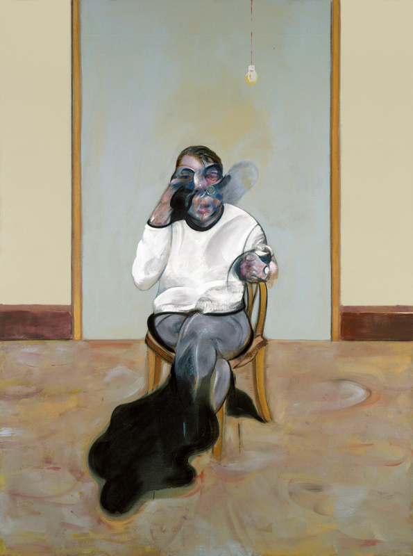 "Francis Bacon, ""Three Portraits – Self-Portrait"" [panneau du milieu] (1973) © The Estate of Francis Bacon /All rights reserved / Adagp, Paris and DACS, London 2019 © The Estate of Francis Bacon. All rights reserved. DACS/Artimage 2019. Photo: Prudence Cuming Associates Ltd"