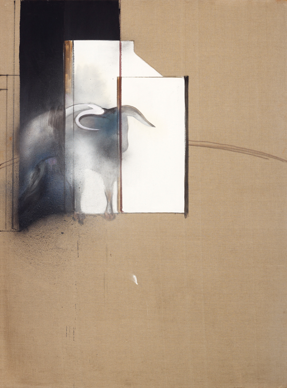 "Francis Bacon, ""Study of a Bull"" (1991) © The Estate of Francis Bacon /All rights reserved /Adagp, Paris and DACS, London 2019 © The Estate of Francis Bacon. All rights reserved. DACS/-Artimage 2019. Photo: Prudence Cuming Associates Ltd"