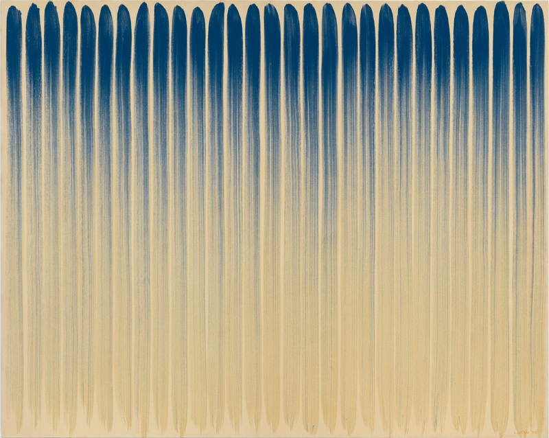 """Lee Ufan, """"From Line"""" (1974) © Adagp, Paris 2018"""