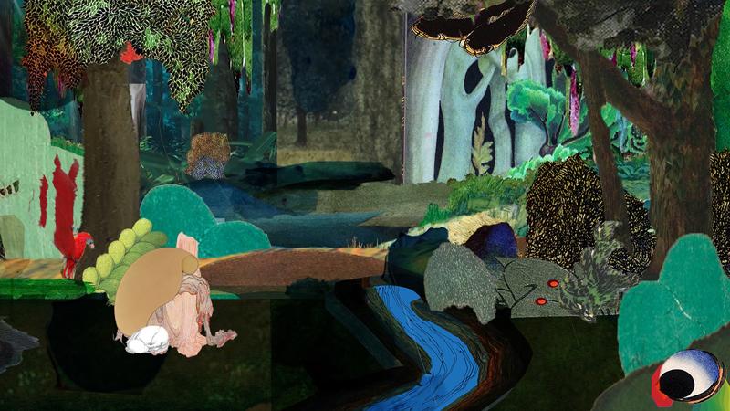 """Rachel Rose, """"Lake Valley"""" (2016), vidéo © Rachel Rose. Courtesy de l'artiste, Galerie Pilar Corrias Londres et entreprise Gavin Brown's, New York / Rome"""