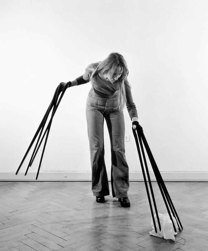 """Rebecca Horn, """"Fingerhandschuhe"""" (1972) © Rebecca Horn / ADAGP, Paris 2019 © Droits réservés."""