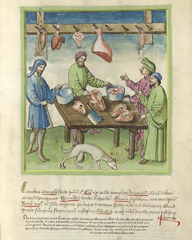 Enluminure de manuscrit
