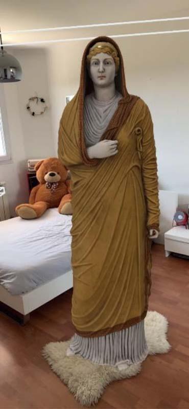 La statue Livie en réalité augmentée