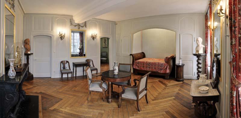 Chambre natale de Gustave Flaubert © Bruno Maurey