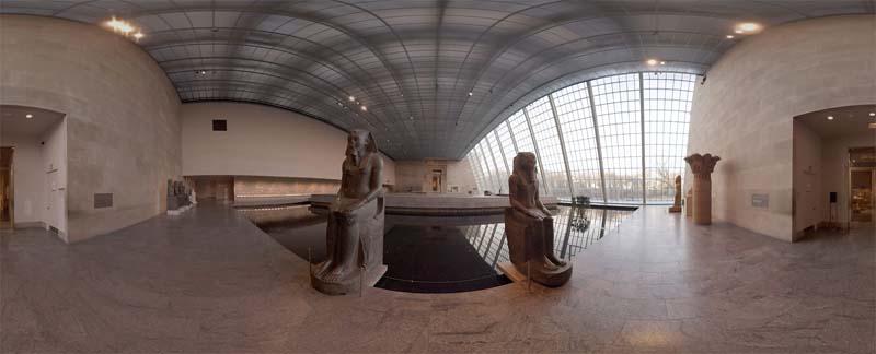 Le Temple de Dendur, au Metropolitan Museum de New York
