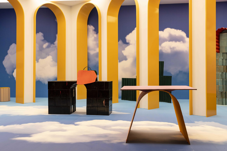 Vue du stand Fendi à Design Miami 2019. Courtesy FENDI